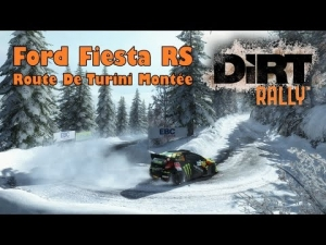 DiRT Rally | Ford Fiesta RS @ Monte-carlo