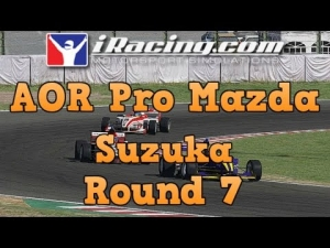iRacing AOR Pro Mazda Championship round 7 from Suzuka - More fun in Japan