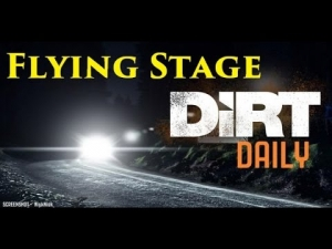 DiRT RALLY: Flying Stage At Night