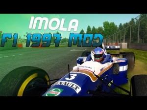 F1 2014 Mods - F1 1997 Mod Gameplay - Imola San Marino