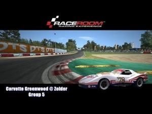 Corvette Greenwood @ Zolder - Group 5 - Helmet Effect - RaceRoom Racing Experience