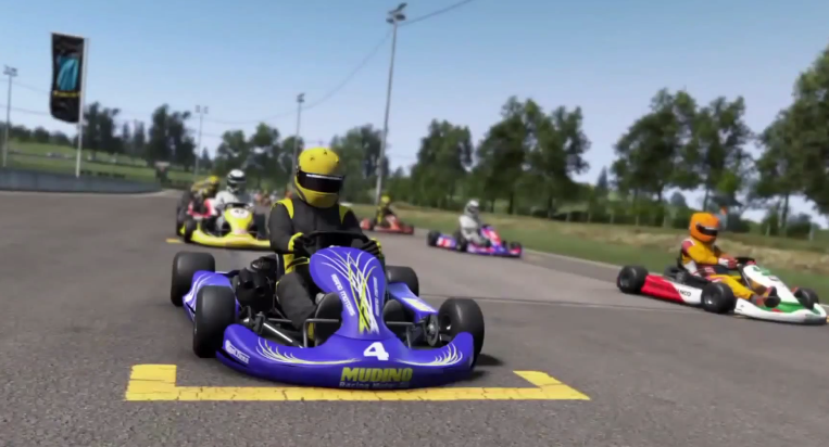 Project CARS Gameplay PS4 ► Karting GP (Thrustmaster T100) [HD]