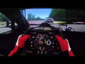 Asetto Corsa -  Blancpain Series 2015 @ Brands Hatch - Triple Screen Thrustmaster Gopro