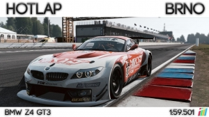 Project Cars - Hotlap Brno | BMW Z4 GT3 - 1:59.501