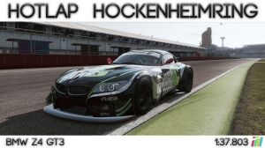 Project Cars - Hotlap Hockenheimring GP | BMW Z4 GT3 - 1:37.803