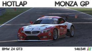 Project Cars - Hotlap Monza GP | BMW Z4 GT3 - 1:46.541