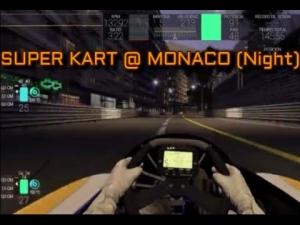 Project CARS Super Kart 250cc @ Monaco (Night/Noche)