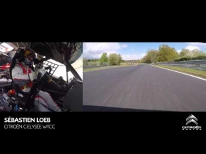 Nürburgring Nordschleife: a full lap with Loeb - Citroën WTCC 2014