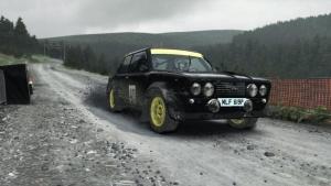 Fiat 131 Abarth @ Fferm Wynt