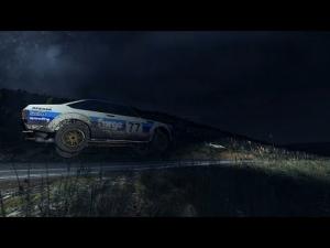 DiRT Rally - Escort MK2 @ Bidno Moorland at night