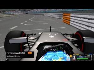 rFactor F1 2015 (Mod VF 2.0) McLaren Honda - Monaco