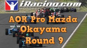 iRacing AOR Pro Mazda round 9 from Okayama - Yet more fun in Japan