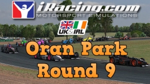 iRacing UK&I Skip Barber Round 9 from Oran Park - 28 car grid