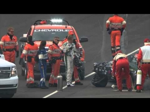 Ed Carpenter Incident - Indianapolis Motor Speedway - May 17