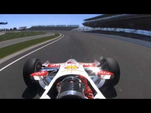 Helio Castroneves Indianapolis Motor Speedway Incident May 13