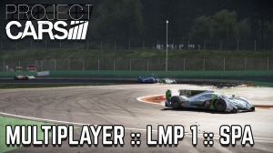 Project Cars :: Multiplayer :: LMP 1 :: Spa :: 20 Players (replay)