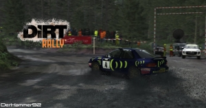 Subaru Impreza 95 Group A @ Pant Mawr Welsh Rally Stage - DiRT Rally