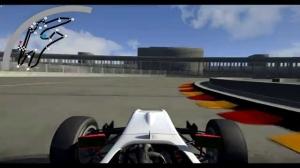 Berlin Formula e circuit simulation update (Assetto Corsa mod)