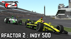 rFactor 2 :: OMG tries the Indy 500 with 33 AI....OMG!!!