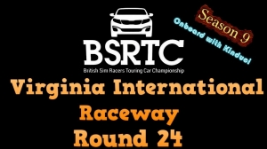 iRacing BSRTC Season 9 Round 24 from Virginia International Raceway