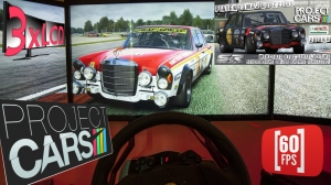 Project CARS | simrace.pl ONLINE RACING teaser | Mercedes 300SEL at IMOLA | 60 fps