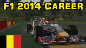 F1 2014 Career - Part 30: Belgium