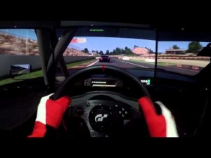 Project CARS Race - Mercedes-Benz AMG C-Coupe DTM @ Montmelo - Triple Screen