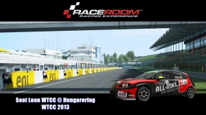 Seat Leon WTCC @ Hungaroring - WTCC 2013 - RaceRoom Racing Experience