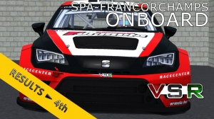 VSR SEAT LEON EUROCUP 2015 | Spa-Francorchamps R2 | Balazs Toldi OnBoard