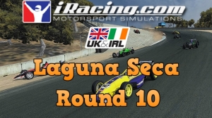 iRacing UK&I Skip Barber Round 10 from Laguna Seca - 31 car grid