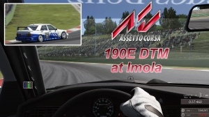 AC - World record RSR - 190E DTM at Imola