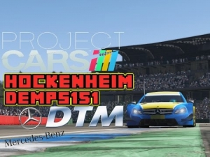 Project Cars: DTM Mercades: Hockenheim