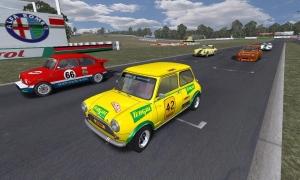 Mini Cooper @ Barbagallo Raceway