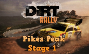Dirt Rally Stage 1 Pikes Peak in the Peugeot 405 T16 Pikes Peak