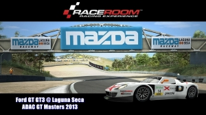 Ford GT GT3 @ Laguna Seca - ADAC GT Masters 2013 - RaceRoom Racing Experience