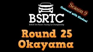 iRacing BSRTC Season 9 Round 25 from Okayama