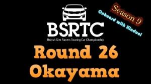 iRacing BSRTC Season 9 Round 26 from Okayama