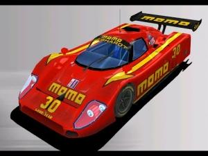 Nascar Racing 2003 RedLine GTP Momo Gebhardt Jaguar @ Rouen