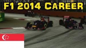 F1 2014 Career - Part 32: Singapore