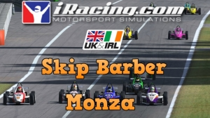 iRacing UK&I Skip Barber Round 11 from Monza - 28 car grid