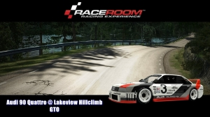 Audi 90 Quattro @ Lakeview Hillclimb - GTO - RaceRoom Racing Experience