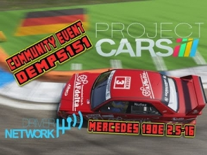 Project Cars: Community Event: Mercedes 190e-2.5