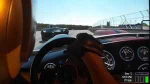 rFactor 2: Shelby AC Cobra 427 vs Atlanta Motorsports Park (Street Tires)
