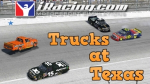 iRacing C Class fixed at Texas - Not the finish i was hoping for