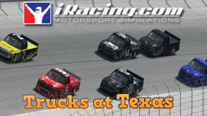 iRacing C Class Trucks at Texas - Getting Better