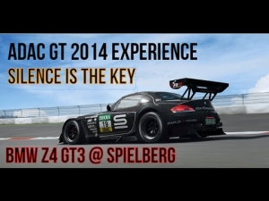 "ADAC GT Masters 2014 ""Silence is the key"" (BMW Z4 GT3@Spielberg)"