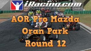iRacing AOR Pro Mazda round 12 from Oran Park