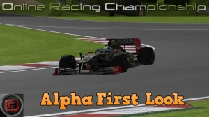 Online Racing Championship Alpha version gameplay