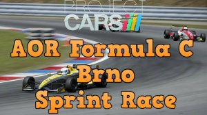 Project Cars AOR Formula C at Brno - Sprint Race