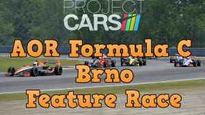 Project Cars AOR Formula C at Brno - Feature Race